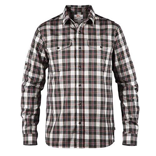 Fjallraven Singi Flannel Shirt Ls M Chemise Homme, Crépuscule, XXL