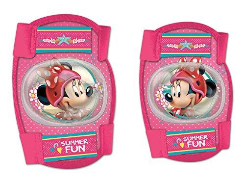 Disney Mädchen Minnie Mouse Knie- und Ellenbogenschoner Set, Mehrfarbig, S