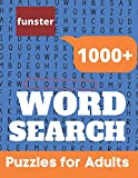 Funster 1000+ Word Search Puzzles for Adults: Word Search Book for Adults