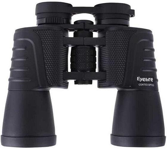 HUWAI Jumelles imperméables HD Pliant 10x50 Jumelles portable pour l'observation des Oiseaux, randonnée, Safari Sightseeing, événeHommests Sportifs