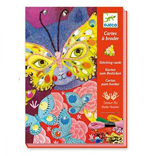 Djeco Kreativ Set Stickbilder Elegant carnival mit Zubehör