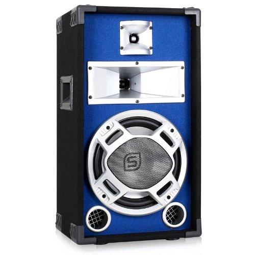 Skytec Altavoz PA 25cm con Led Azul 400W