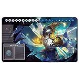 Digimon Playmat , Juego de mesa MTG, Tableros tapetes para juegos, Digimon tapete de juego de, Mesa tamaño 60 x 35 cm alfombrilla de juego para Yugioh Digimon Magic The Gathering - 1025782ES