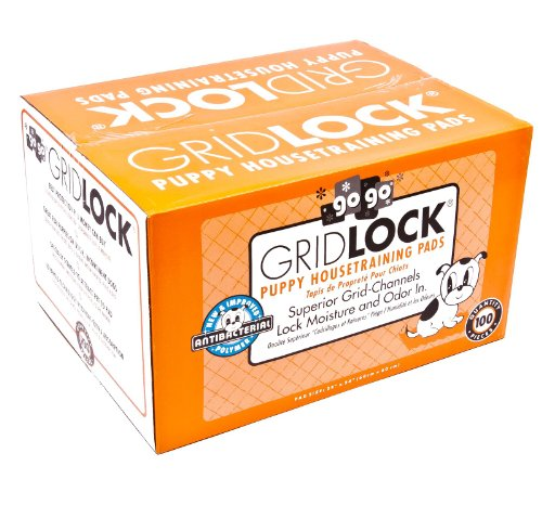 Gridlock Housebreaking Pet Training Pads - 100 Pack