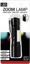 Verhaak - zaklamp led batterij 1 lm staal zwart - Zwart