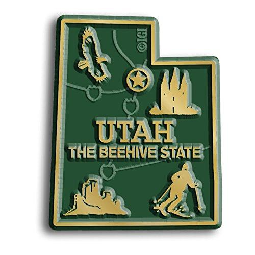 Utah State Map Magnet