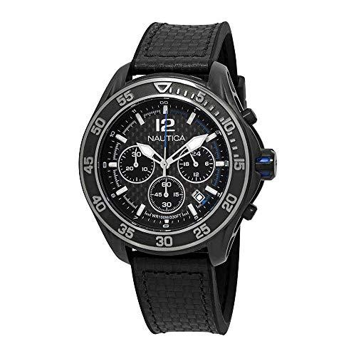 Nautica Reloj Analógico para Hombre de Cuarzo con Correa en Silicona 0656086081466
