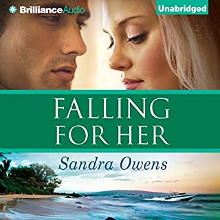 Falling for Her audiobook cover art