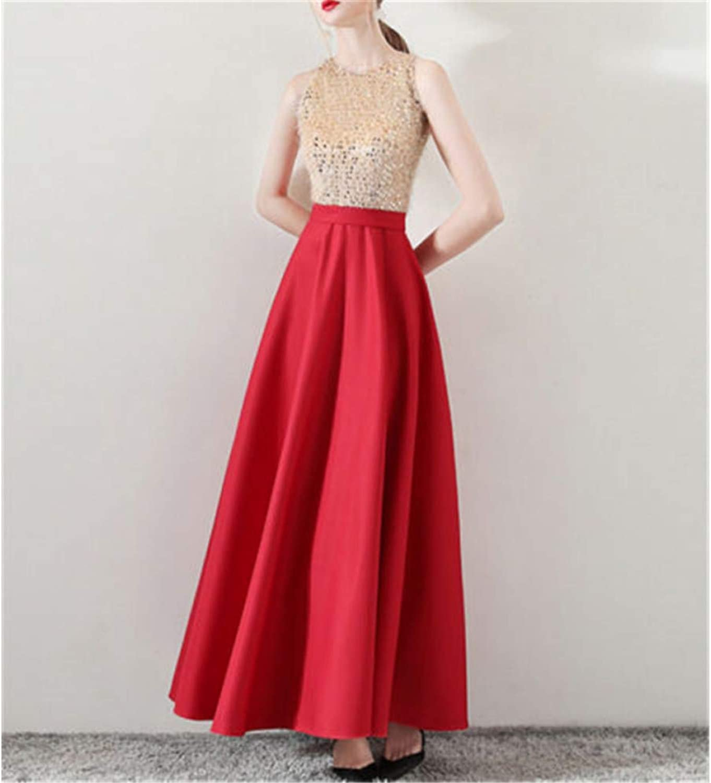 QWERTY Dress Women Evening Party Formal Dress High Waist Sequin Femal