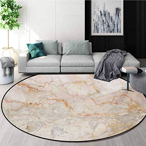 Lowest Price! RUGSMAT Marble Super Soft Circle Rugs for Girls,Mine Pattern Design Natural Fractures ...