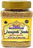 Rani Fenugreek (Methi) Seeds Whole 25oz (1.56lbs) 708g PET Jar,...