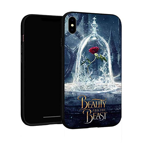 iPhone XR Case 6.1',Case Cover for iPhone XR (Beauty-and-The-Beast-2)