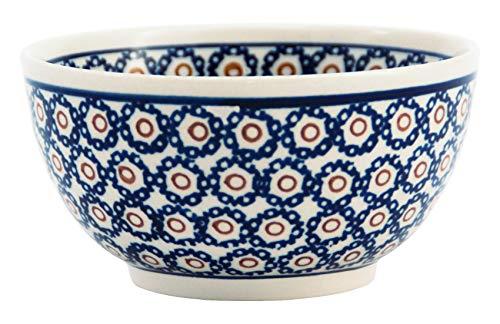 Original Bunzlauer Keramik Schüssel/Schale mit Innendekor Ø14,0cm im Retro-Dekor 4