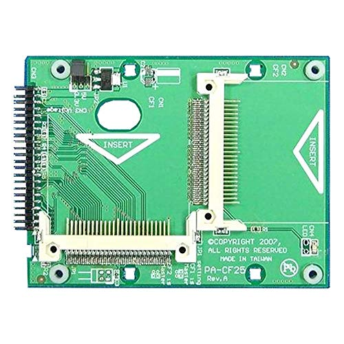Cablematic - Slot COMPACTFLASH a IDE-HDD 2.5 (2xCF a IDC44-M)