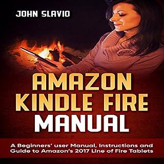 Amazon Kindle Fire Manual audiobook cover art