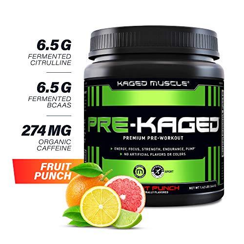 Pre Workout Powder; KAGED MUSCLE Preworkout for...
