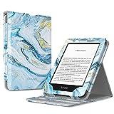 TiMOVO Funda Compatible con Nuevo Kindle (10ª generación - Modelo 2019), Prima Voltear Verticalmente Tapa de Cubierta con Auto Sueño/Estela Case (No para Kindle Paperwhite) - Arena Movediza Azul
