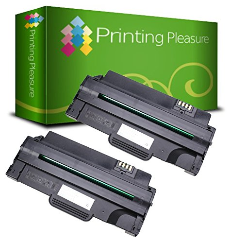 2 Compatible Toner Cartridges for Dell 1130 1130n 1133 1135n - Black, High Yield