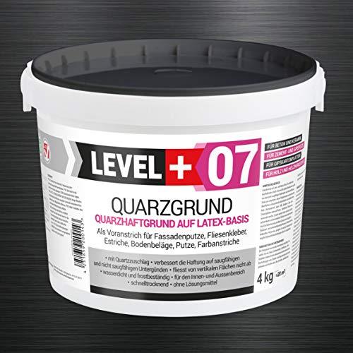4 kg Quarzgrund Putzgrund Haftputzgrund Grundierung für Beton Putz Primer weiß RM07