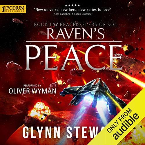 Raven's Peace audiobook cover art