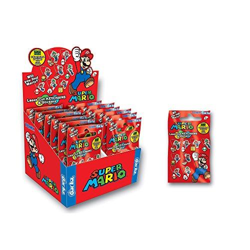 Porte Clés 12 en 1 'Nintendo' - Porte-clés Mario Laser Cut Sachet