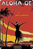 ハワイアンヴィンテージはがき30個パック–Aloha Oe by LeMorgan