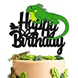 Lizard Cake Topper Lizard Animal Silhouette...