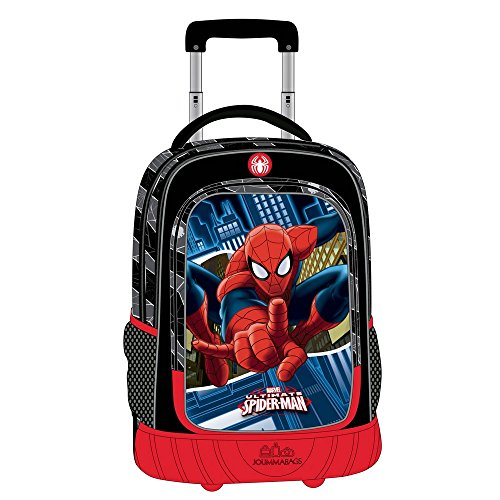 MARVEL Spiderman Sac Scolaire, 43 cm, 32,64 L, Bleu