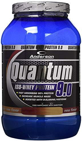 ANDERSON QUANTUM 9.0 da 2kg proteine del siero del latte isolate (TOFFEE ROLLS)