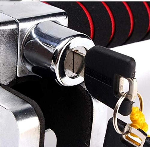 Xinhuatian Swivel Steering Wheel Lock Anti-Theft Security Device Suitable for All Cars with 2 Keys