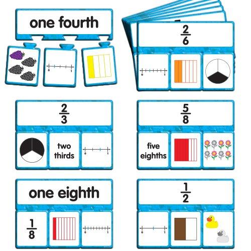 EAI Education Snap Math - Fractions Puzzle: Grade 3