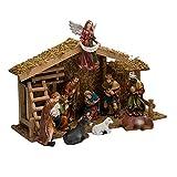 12-Piece Christmas Nativity Set