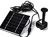 Sunnytech Solar Power Water Pump Kits - Garden Fountain Pool Watering Pond Pump