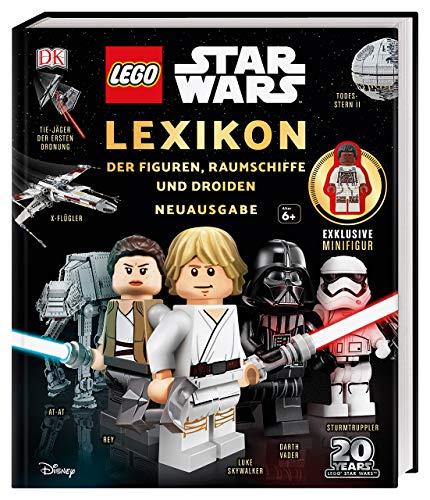 LEGO® Star Wars™ Lexikon der Figuren, Raumschiffe und Droiden: Neuausgabe. Mit exklusiver Minifigur Finn
