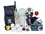 Complete Kit bag for all age includes all the gear that you need Available in various sizes for different age groups Batting gloves - palm made from cotton and PVC Premium PVC finger rolls and dual density foam finger rolls Sales Package: 1 Kashmir W...