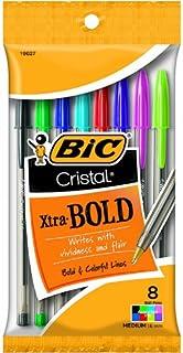 Bic USA Inc BICMSBAP81 Bic Cristal Xtra Bold Pack of 8