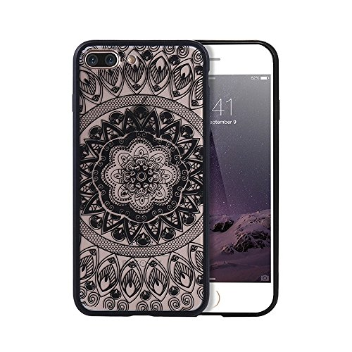 Carcasa para iPhone 6 y 6S, diseño de Palacio Floral Retro, Sexy, Encaje Transparente, 4,7 Pulgadas
