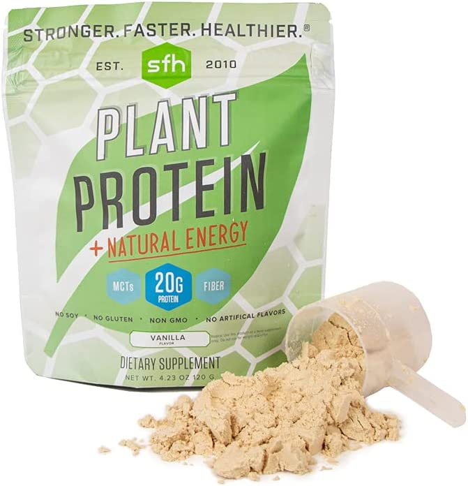 Colorado Springs Mall SFH Plant Limited price sale Based Protein Vanilla 20g of wit Pea Vegan