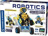 Thames & Kosmos Robotics: Smart Machines – HoverBots w/ BalanceTech STEM Experiment Kit | Build 8 Self-Balancing Robots | Color Manual & 3D Digital Assembly Instructions | Requires Tablet, Smartphone
