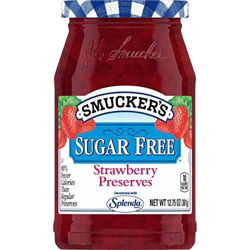 Smucker s Sugar Free Strawberry Preserves with Splenda Brand Sweetener, 12.75 Ounces