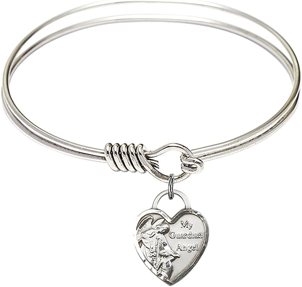 Bonyak Jewelry Excellence Round Free shipping anywhere in the nation Eye Hook Bangle Guardian Angel w Bracelet H