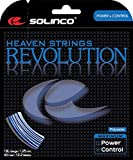 Solinco 'Heaven Strings Revolution 6-Sided Poly (Polyester) 17 Gauge / 1.20mm Tennis Racquet String...