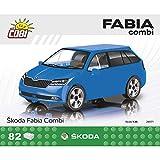 COBI- Skoda Fabia Combi' 2019 Maquette de Construction, COB24571, Coloris Assortis