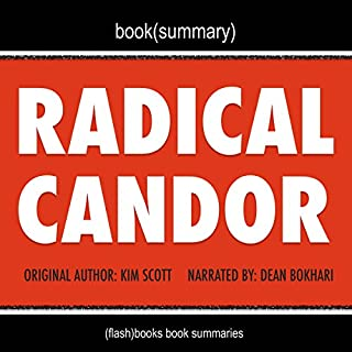Summary of Radical Candor by Kim Scott cover art