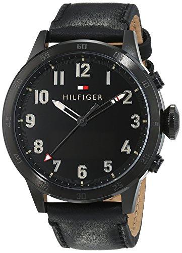 Tommy Hilfiger heren-smartwatch casual sport analoog - digitaal kwarts leder 1791296