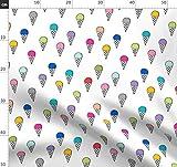 Eis, Gekritzel, Einfach, Mehrfarbig, Sommer, Niedlich
