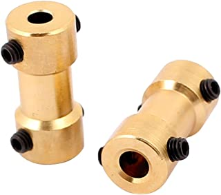 uxcell 3.17mm to 3mm Copper DIY Motor Shaft Coupling Joint Connector for Electric Car Toy