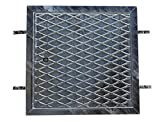 Feuerverzinkter Schachtdeckel, Revisionsdeckel Stahlblech 60 x 60 cm