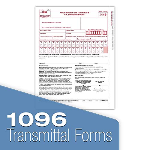 1099 Misc Tax Forms 2019 - Tangible Values 4-Part Kit with Envelopes - TPF Software Included, 25 Pack Photo #4