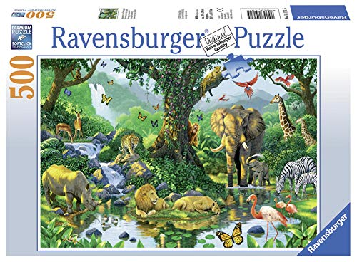 Ravensburger 141715 Puzzel Jungle Harmony - Legpuzzel - 500 Stukjes